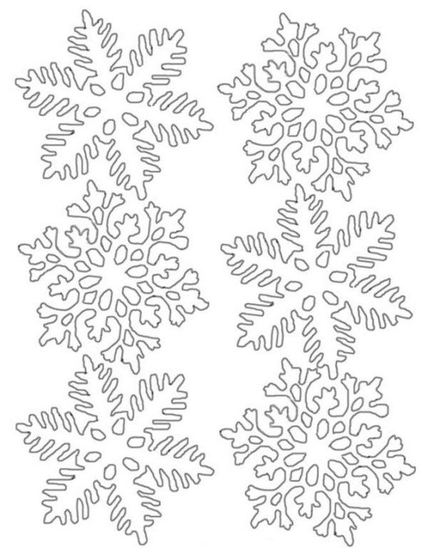 Snowflake stencil (23)