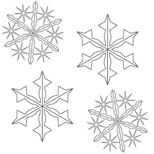 Snowflake stencil (6)