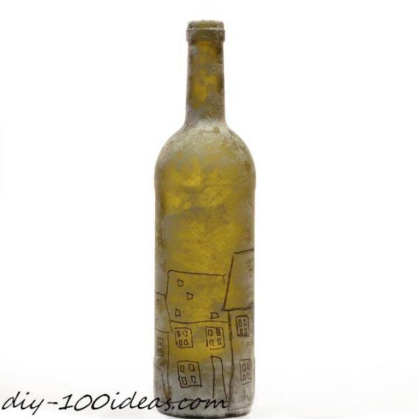 DIY wine bottle decor (5)