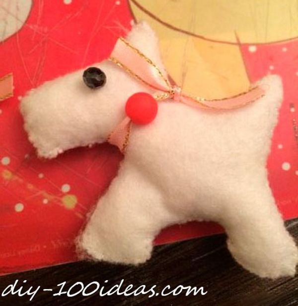 Scottie dog felt brooch (7)