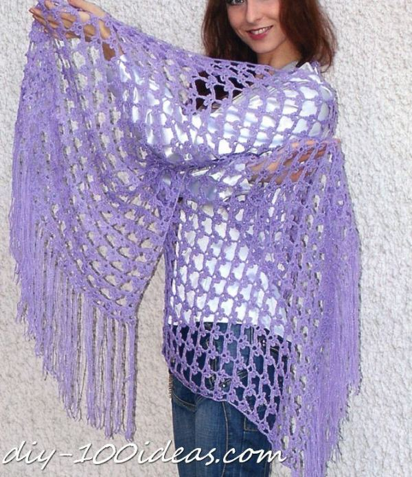 free crochet shawls patterns (1)
