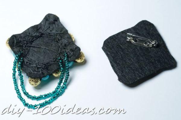 DIY beaded brooch (7)