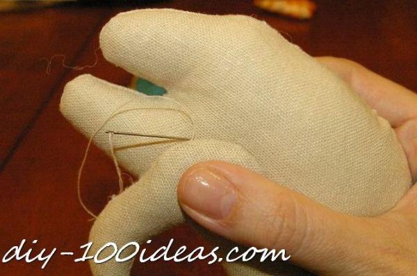 Free sewing pattern Tilda cat (20)