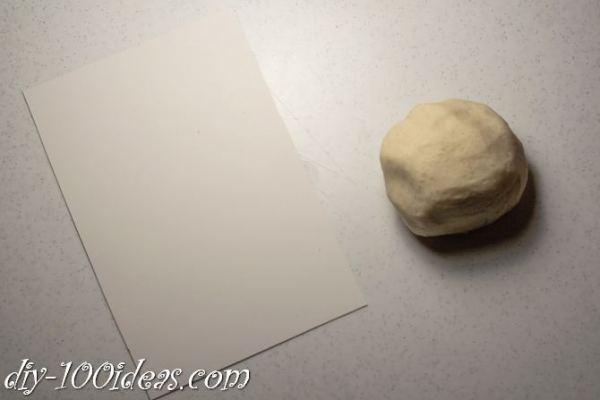 Salt Dough Cat  (2)