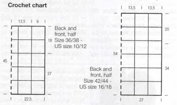 crocheted top chart1