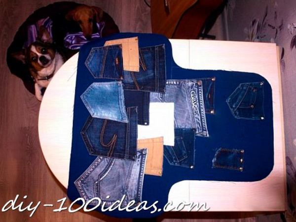 Diy apron from jeans (2)