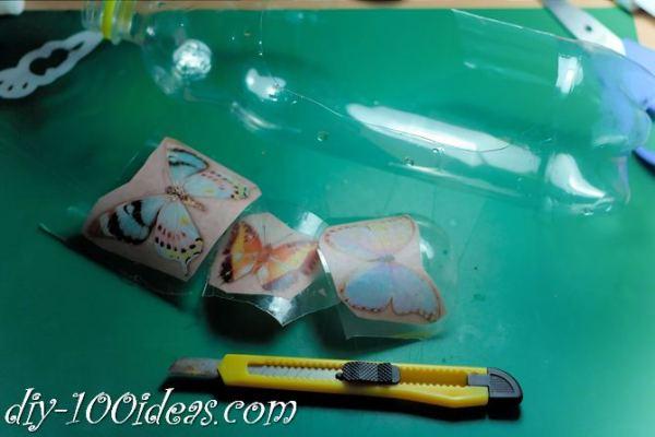 DIY Butterfly From Plastic Bottles (7)