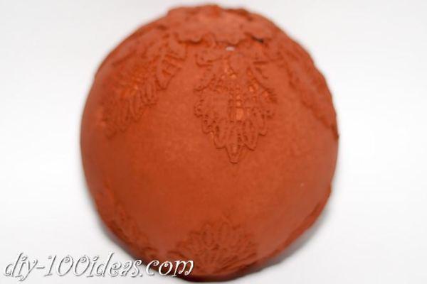 ball Christmas ornament crafts (14)