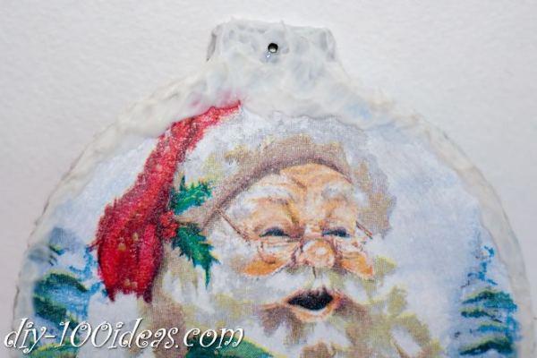 ball Christmas ornament crafts (23)