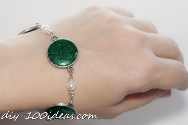 glitter Resin Jewellery (16)
