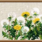 Cross stitch pattern Dandelions