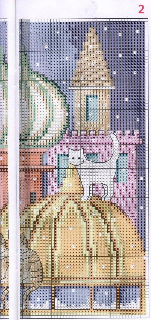 city of cats cross stitch pattern (4)