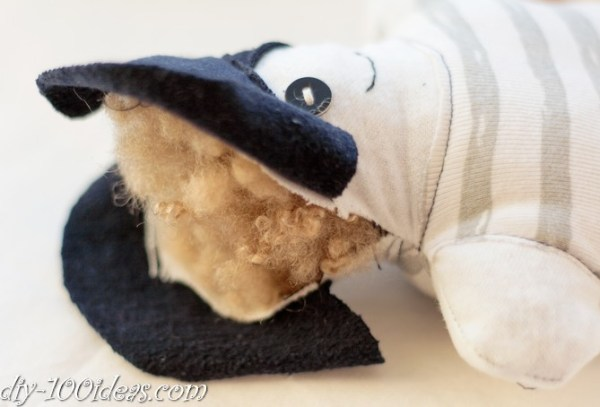 How to sew soft Pirate Doll (4)