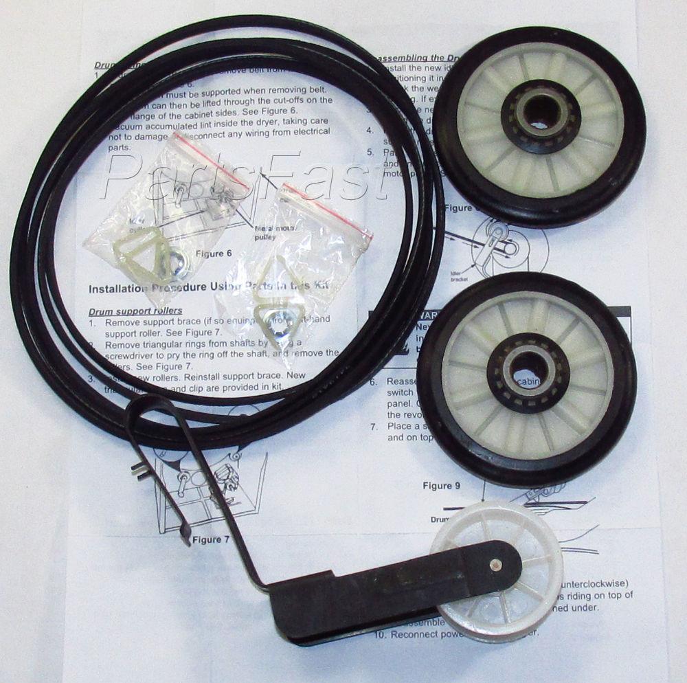 Dryer Maintenance Kit for Whirlpool Kenmore Repair Part 279948