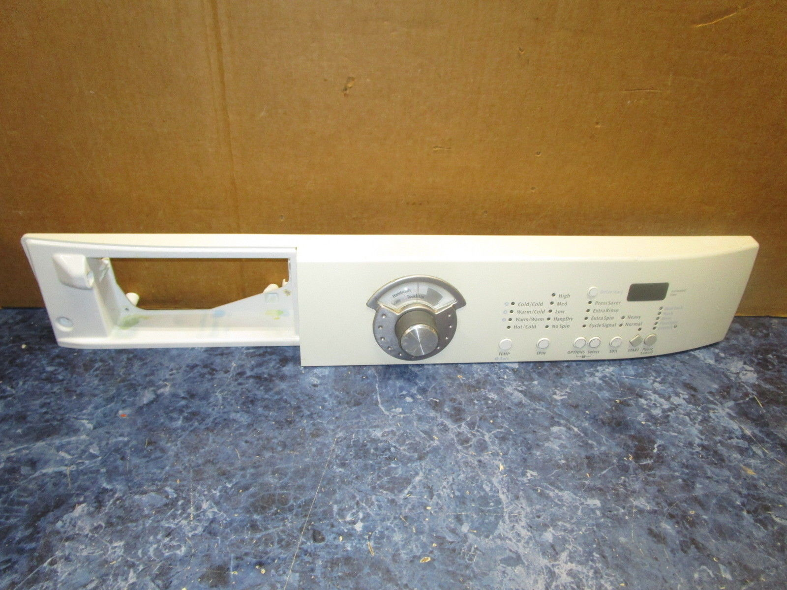 FRIGIDAIRE WASHER CONTROL PANEL PART# 134442700  137006000