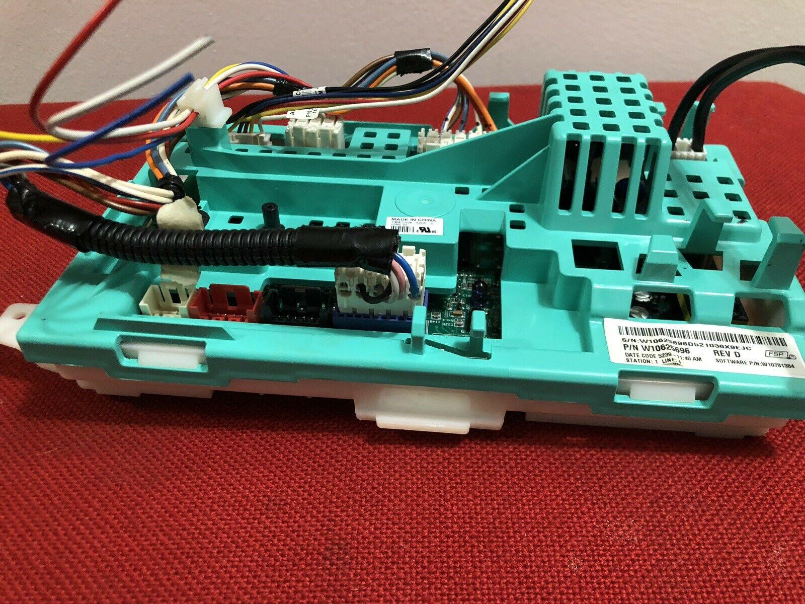 Maytag Washer Machine Control Board Original Part # W10625696. Model MVWX655DW0