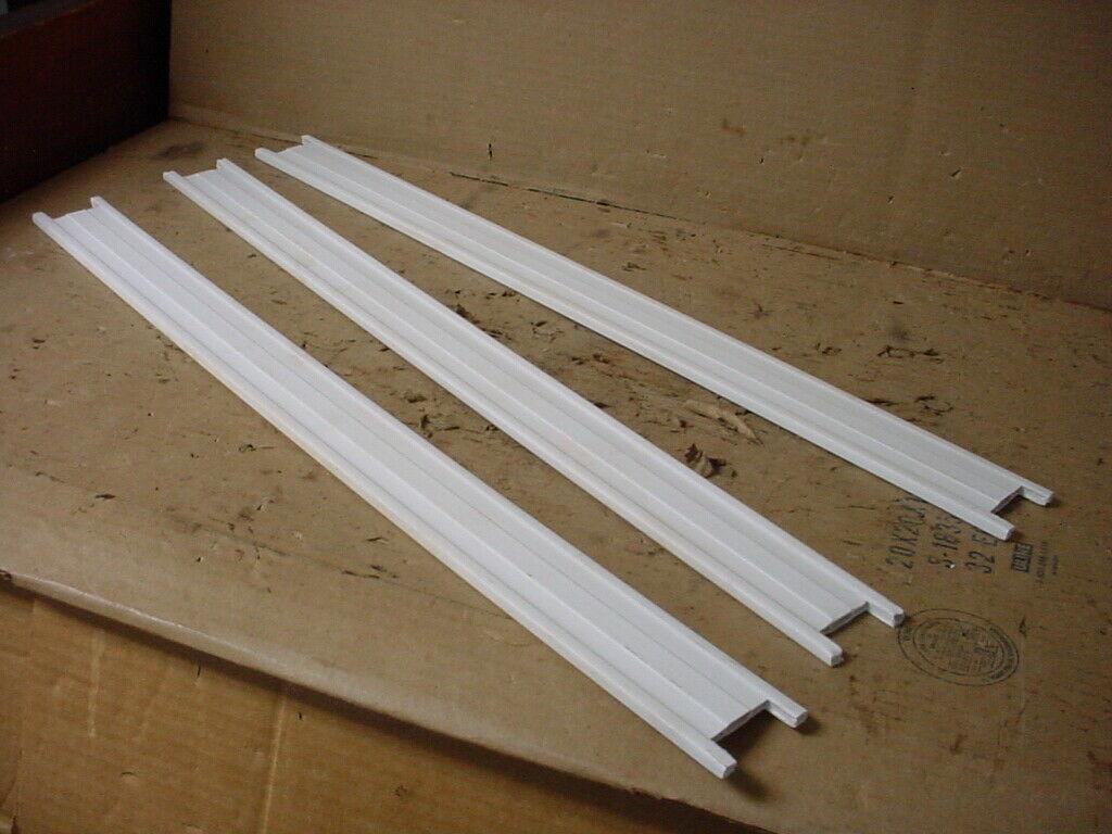 Frigidaire Freezer Door Shelf Trim Lot of 3 Part # 216951600