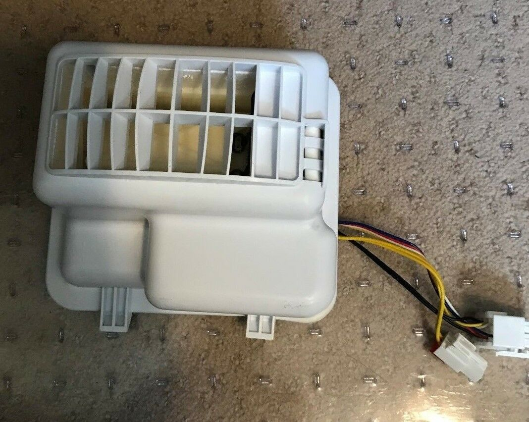 WR09X10173 GE PROFILE DAMPER HEATER MOTOR ASSEMBLY COMPLETE (5 PARTS SEE DETAIL)