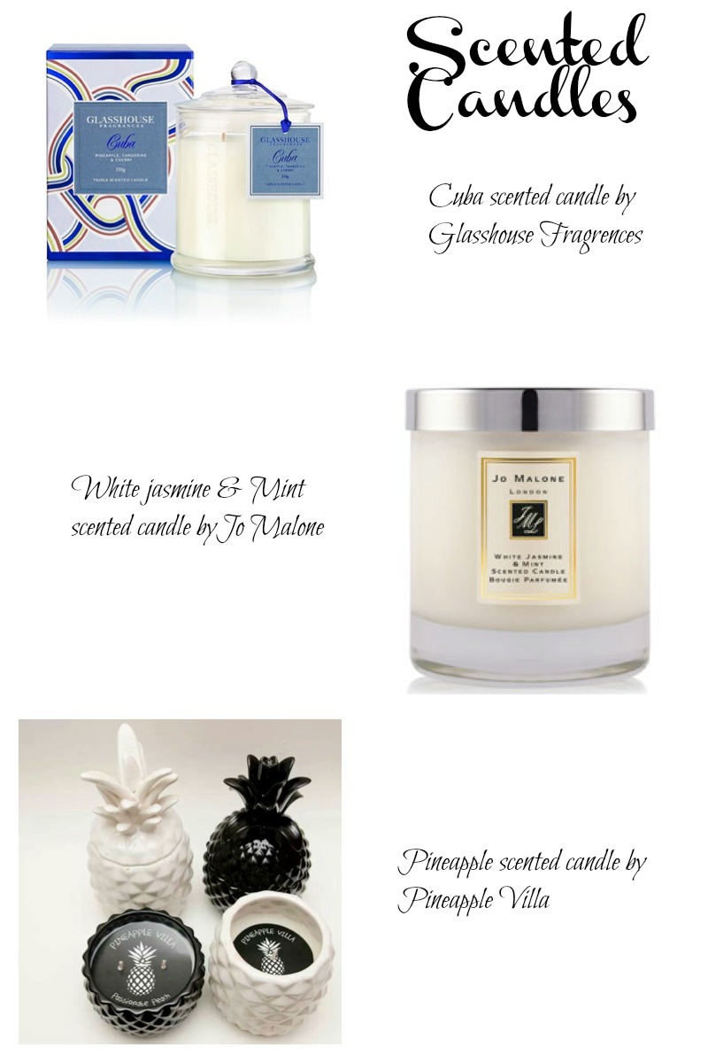 Scented Candles Collage 1