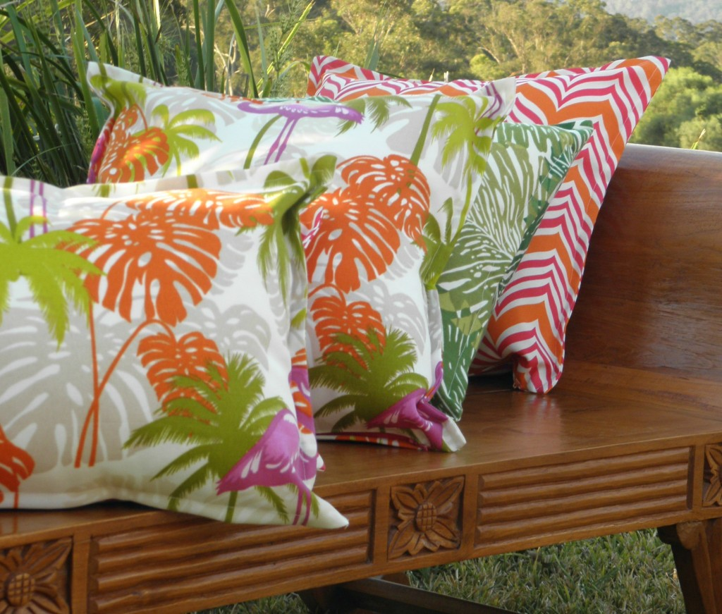Bungalow Living Outdoor Cushions Tropical Style