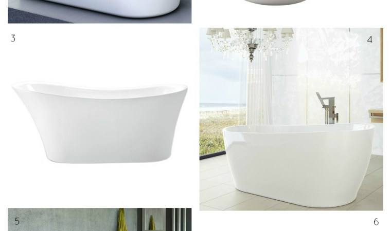 Freestanding baths white