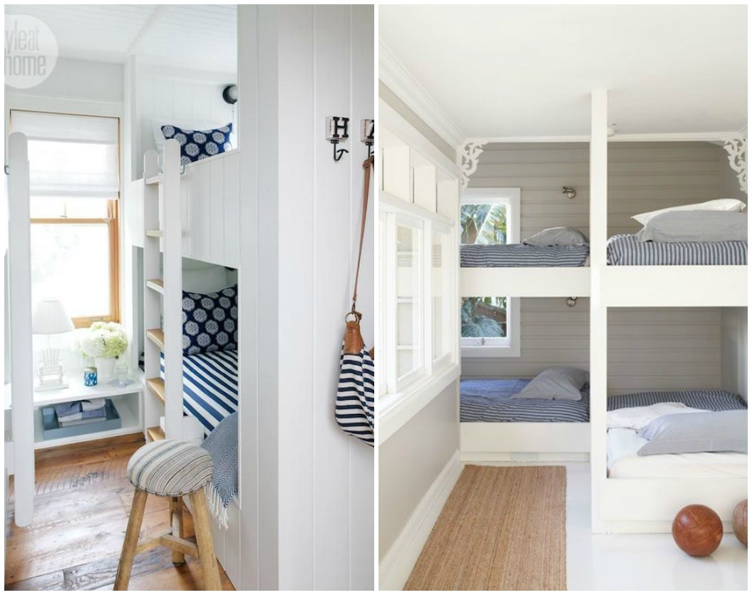 Built In Bunk Beds Tight Space