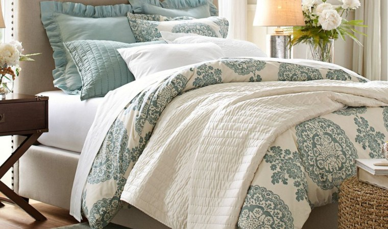 pottery barn upholstered bed