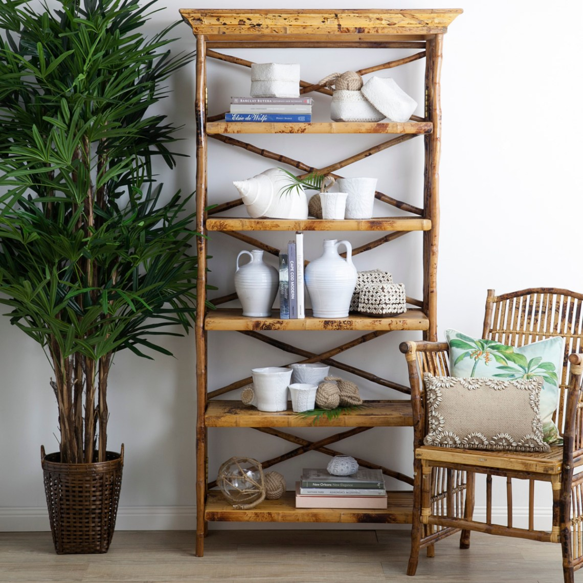 bamboo furniture bookcase