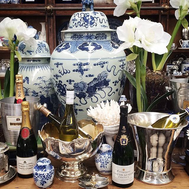 Decorating with Blue and white - Botticelli House