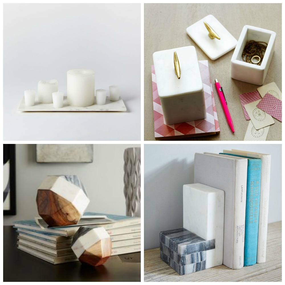 marble homewares decor
