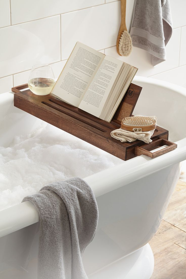 bubble bath essentials bath tray