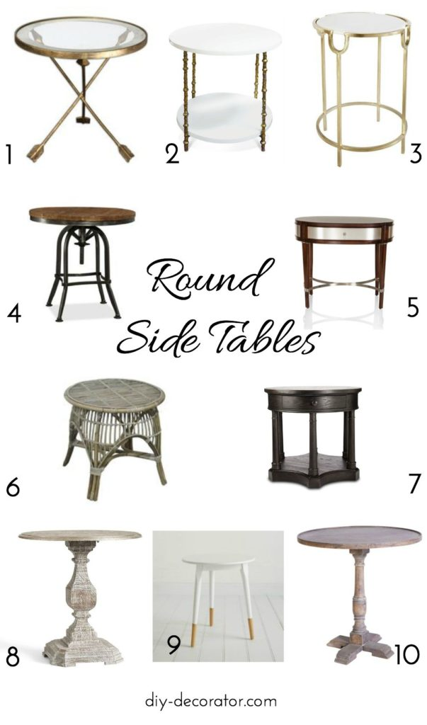 10 best round side tables