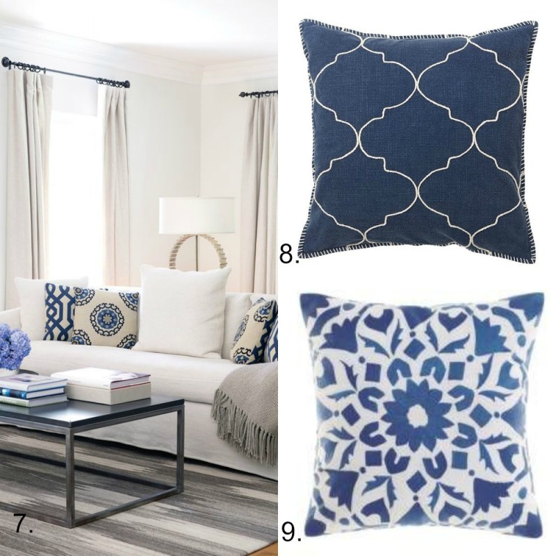 Hamptons cushions5