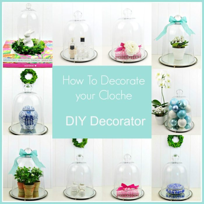 How to decorate your cloche