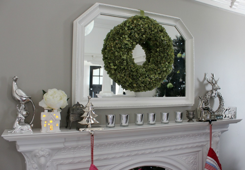 Kylie's Christmas Room Tour Mantle
