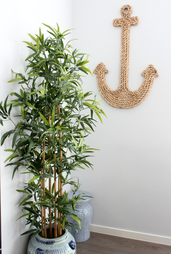 nautical style living anchor
