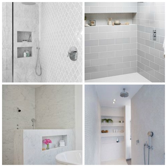 Elegant Bathroom Shower Niche Height Brightpulse Us Source · Horizontal Shower  Niches