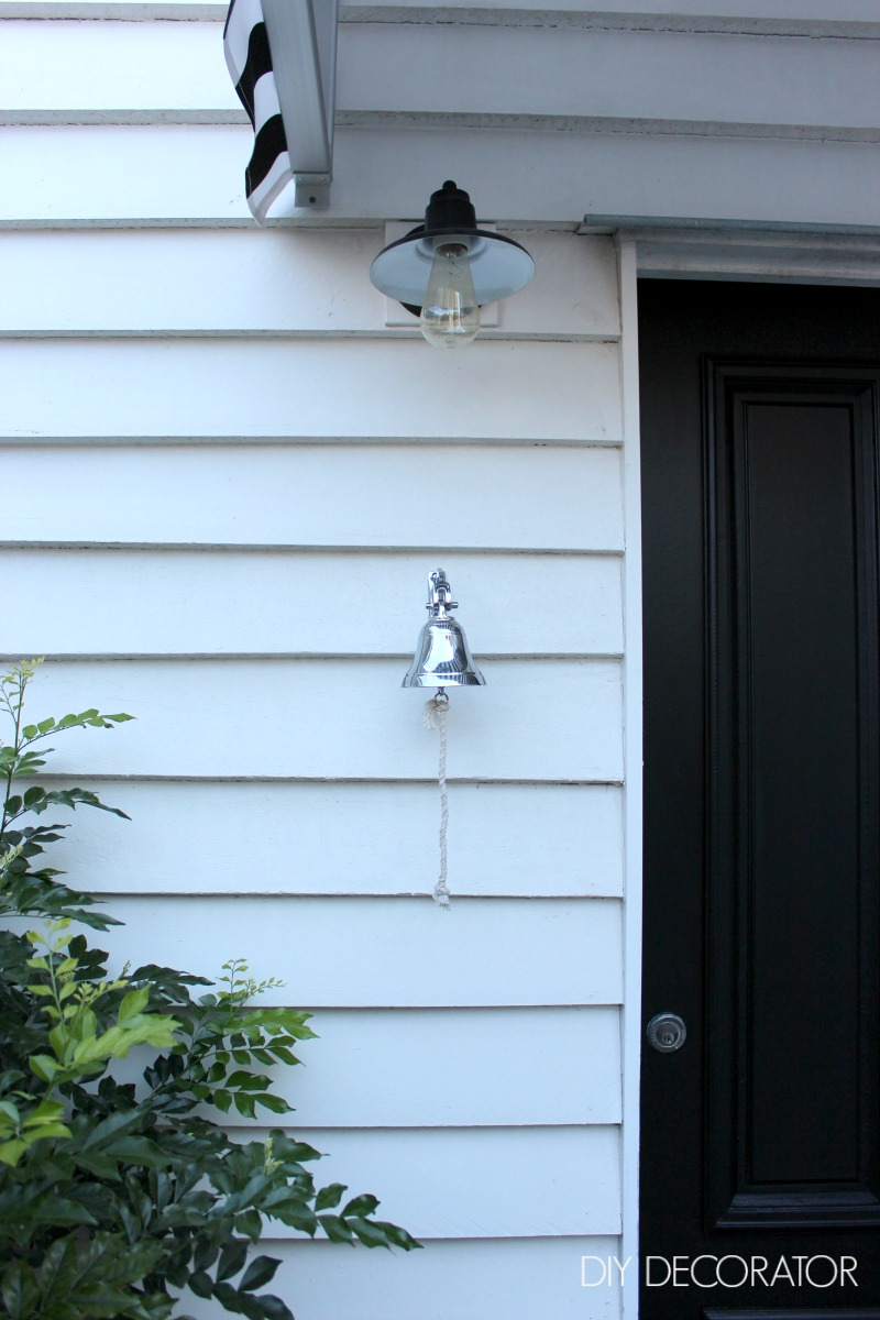 Back Door Makeover Light