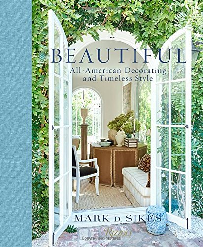 Beautiful decorating book to add to your coffee table collection