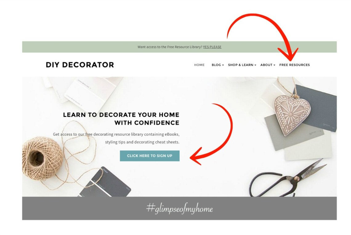 Free Interior Decorating Resource Library