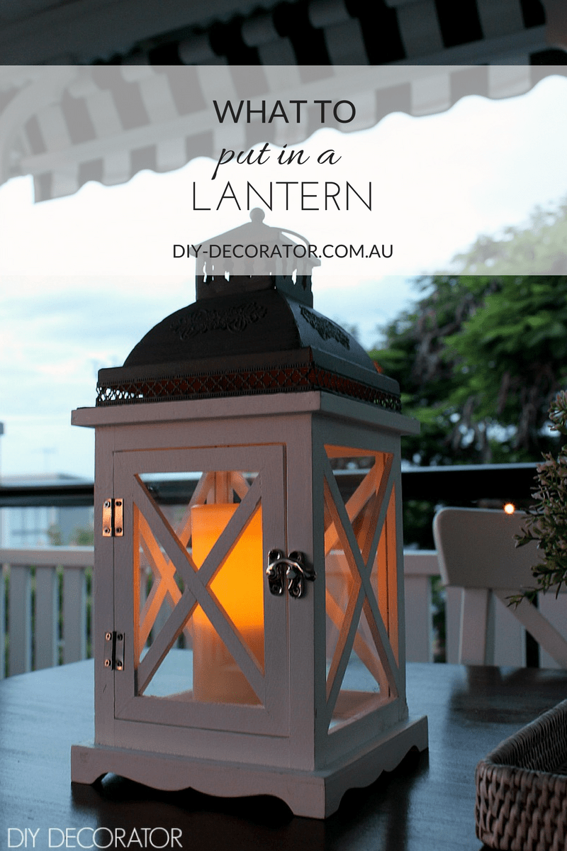 What to put in a lantern