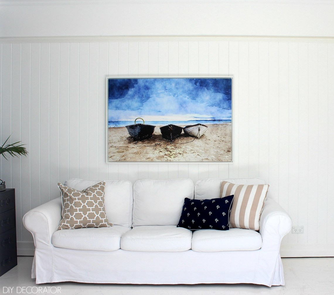Canvas artwork by Finishing Touch Decor