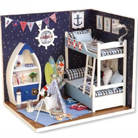 Румбокс DIY-Dom «Комната Моряка»|«Sailor's Room»