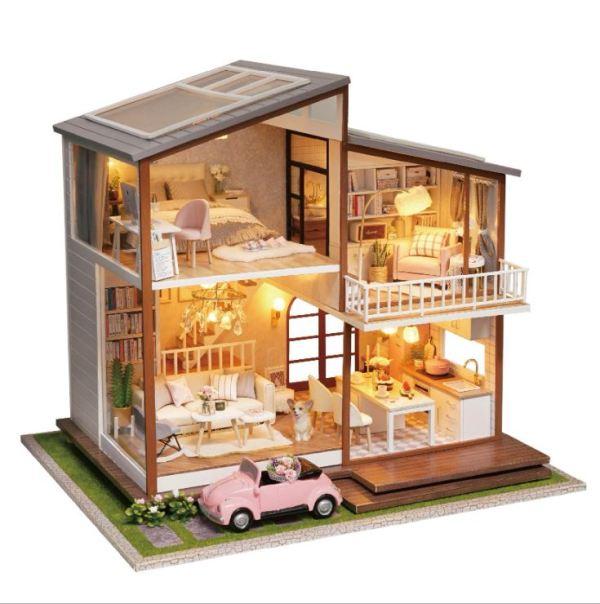 Румбокс DIY-Dom «Британский загородный дом»|«Slow Time» (Арт. MI-000750)