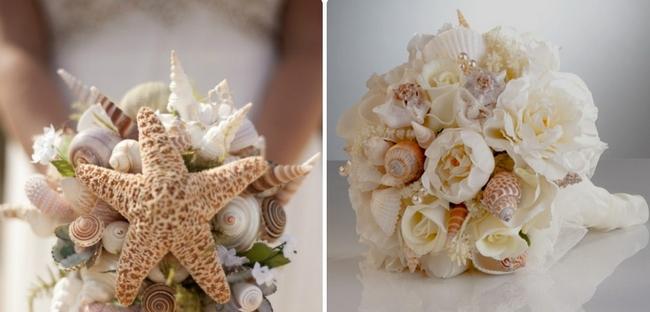 20 Beach Wedding Bouquet Ideas