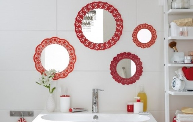 DIY Bathroom Decor On A Budget Cute Wall Mirrors Idea