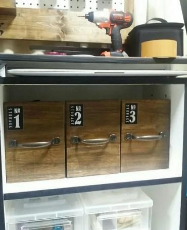 100均DIYで作った収納ボックス