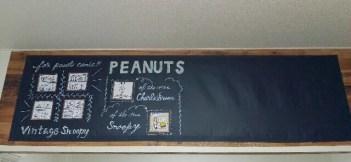 黒板シートと壁紙でDIYした壁