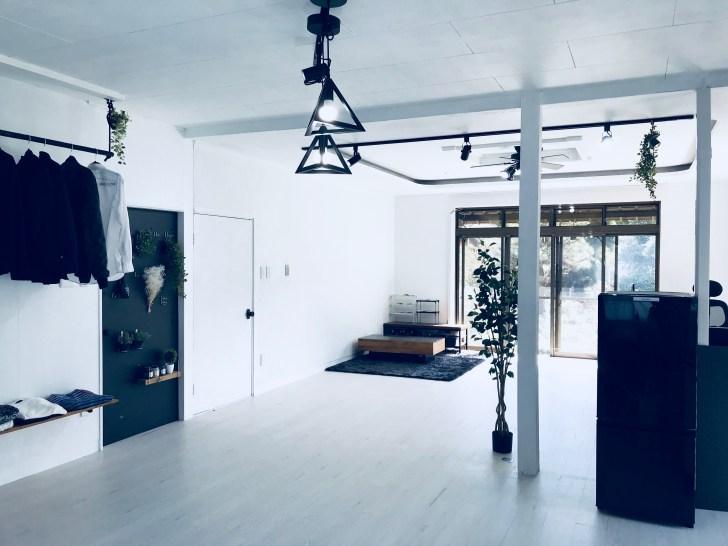 DIYで完成したセルフリノベーション後の部屋