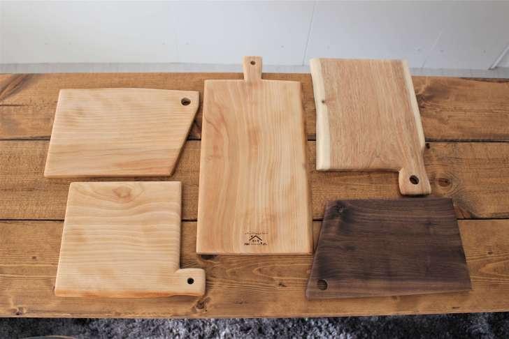 おしゃれなカッティングボード・まな板をDIYで作る